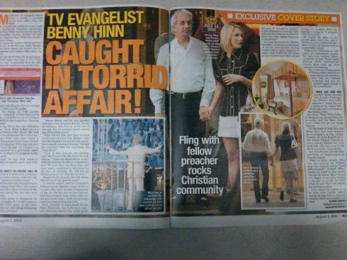 Benny Hinn and Paula White having a love affair?