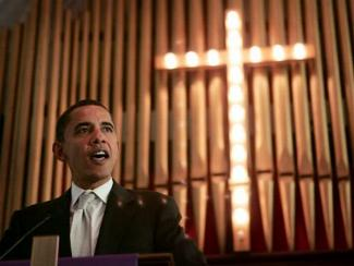Jesus and President Obama - the odd couple?