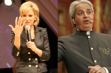 Paula White and Benny Hinn still just friends