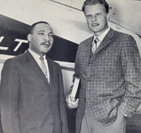 Dr. Martin Luther King and Dr. Billy Graham