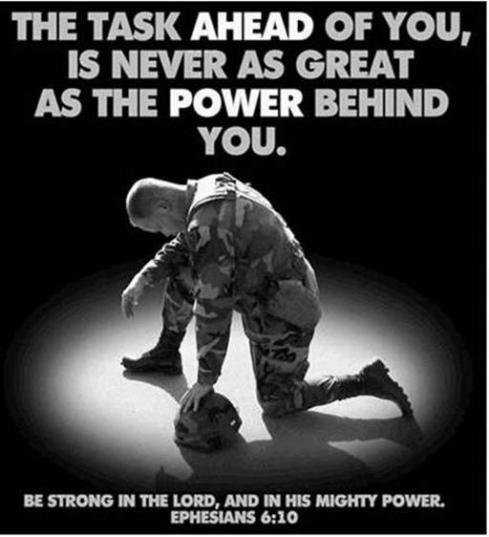 Pray for our troops for protection and peace