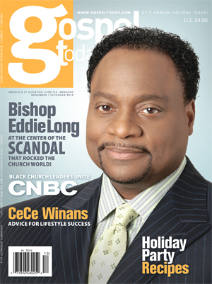 New Birth pastor gets just that on the cover of Gospel Today magazine
